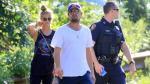 Leonardo DiCaprio y su pareja Nina Agdal salieron ilesos de un accidente de tránsito - Noticias de leonardo dicaprio