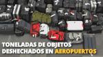 Hay que estar informados de los artículos prohibidos en el equipaje de mano. (Difusión)