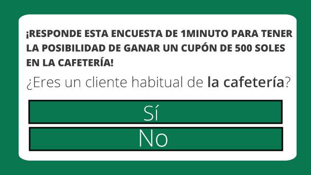 Obtener un supuesto regalo tras responder una falsa encuesta podría traerte dolores de cabeza en este Día del Café Peruano. (Perú21)