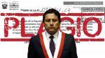 Congresista Elías Rodríguez del Apra plagió tres noticias en proyecto de ley. (Composición)