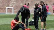 Óscar Vílchez se lesionó y es duda en la selección peruana. Este lunes será evaluado para definir si puede jugar o no. (Perú21)