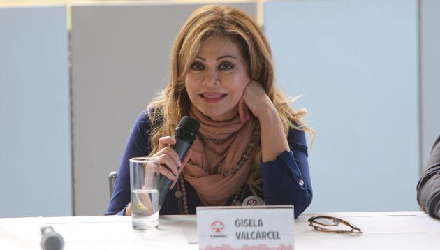 Gisela encabeza lista de famosos de esta noble causa — Teletón