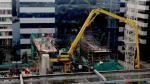 El titular del sector Vivienda destacó los avances del proyecto del Sistema de Tratamiento de las Aguas Residuales. (USI)
