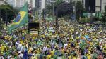 Miles de personas protestaron en contra del nuevo gobierno en Brasil - Noticias de rio janeiro