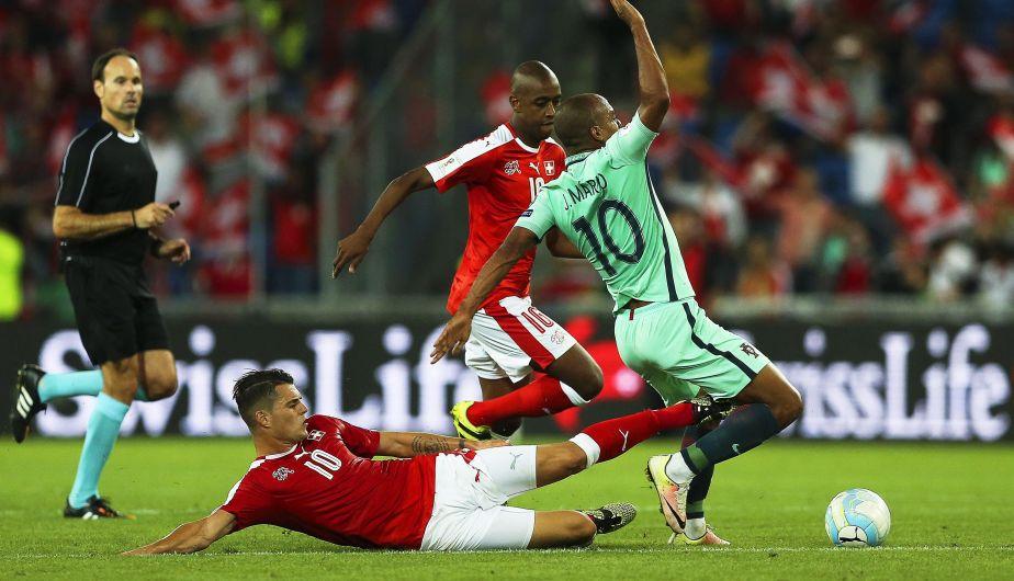 Resultado de imagen para suiza 2-0 portugal