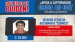 Policía capturó a sujeto acusado de arrojar ácido a dos niñas y su madre en Chiclayo [Video] - Noticias de desfigura rostro