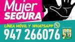 Los Olivos: Municipalidad inauguró línea telefónica para recibir denuncias sobre violencia contra las mujeres - Noticias de santa rosa chavarria