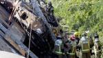 España: Al menos 4 muertos y 47 heridos en descarrilamiento de tren [Fotos y video] - Noticias de estacion espana