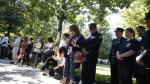 Rinden homenaje a víctimas del atentado del 11 de setiembre en Nueva York - Noticias de gemelo