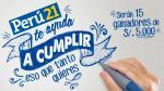 Conocer a los ganadores de los 15 premios de s/.5,000 que Perú21 sorteó entre sus lectores - Noticias de antonio argandona