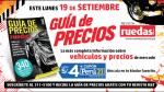 Este 19 de setiembre con Perú21 sale a la venta la Guía de Precios de Ruedas&Tuercas - Noticias de ficha técnica