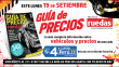 Este 19 de setiembre con Perú21 sale a la venta la Guía de Precios de Ruedas&Tuercas