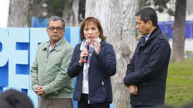 Ministra del Ambiente presentó su plan de trabajo para sus primeros 100 días de gestión. (Minam)
