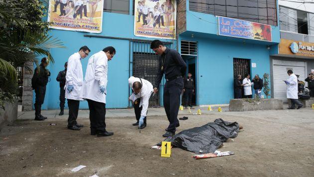 San mart n de porres asesinan de 6 disparos a soldado del for Puerta wonder woman