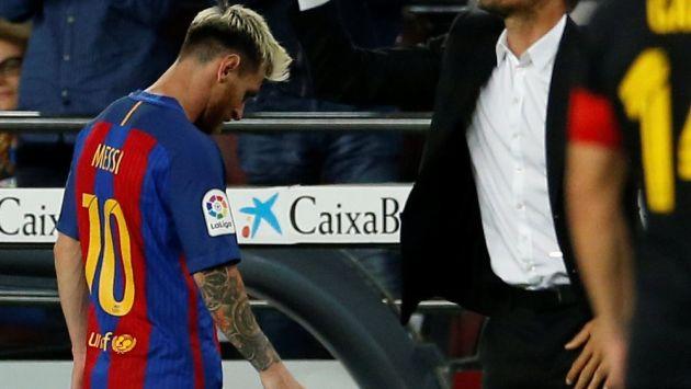 Lionel Messi se perderá el partido ante Perú por lesión. (AFP)