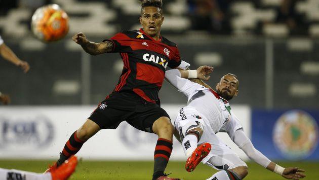 Flamengo derrotó 1-0 a Palestino por la Copa Sudamericana. (EFE)