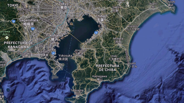 Movimiento sísmico se sintió en Tokio, Japón. (Maps)