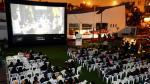 Municipalidad de Miraflores instala el primer cine para ciclistas en Lima - Noticias de ciclista lima