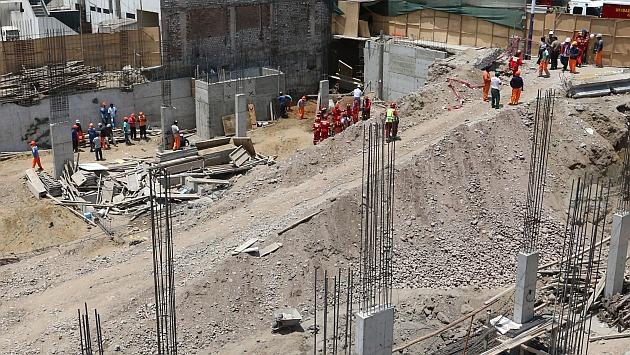 Un muerto y 5 heridos por derrumbe en una construcción en el distrito de Los Olivos. (USI/Referencial)