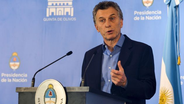 Resultado de imagen de Mauricio Macri argentina