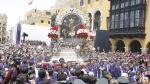 Señor de los Milagros saldrá en 5 procesiones por las calles de Lima. (Anthony Niño de Guzmán/Perú21)