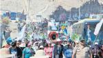Habitantes de Islay en Arequipa bloquearon vía y marcharon en la Panamericana Sur - Noticias de maria regina