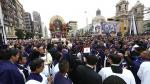 Desvíos en Metropolitano y Corredor Azul por procesión del 'Señor de los Milagros' - Noticias de estacion espana