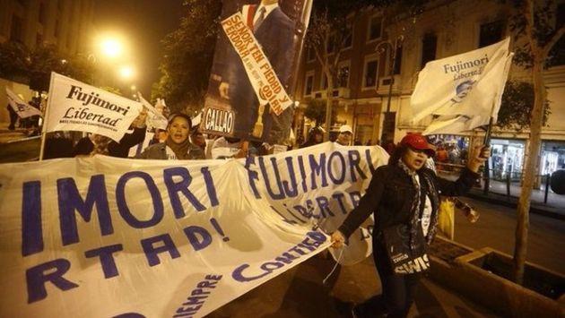 Simpatizantes de Alberto Fujimori convocan nueva marcha para pedir libertad del expresidente. (Perú21)