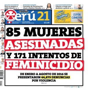 85 mujeres asesinadas