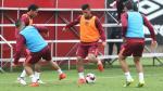 Selección peruana: Alberto Rodríguez no terminó segundo día de práctica [Fotos] - Noticias de cristian rodriguez