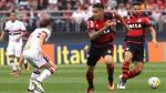 Sao Paulo vs. Flamengo: Duelo entre Palo Guerrero y Christian Cueva terminó sin goles [Fotos] - Noticias de diego lugano