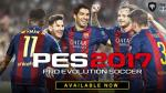 PES 2017 fue lanzado y trae varias novedades para jugadores - Noticias de barcelona