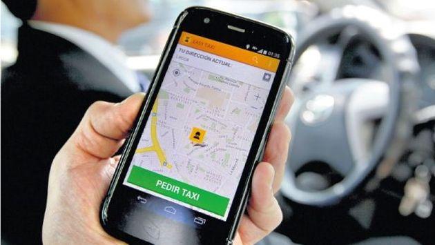 Boom de taxis con aplicativos. Empresas ofrecen a sus usuarios seguridad y comodidad. (USI)