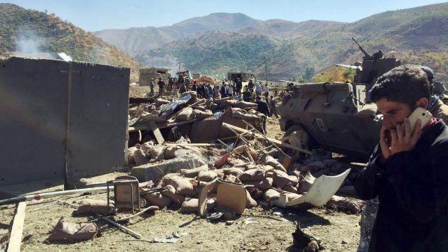 Al menos 18 muertos dejó la explosión de un coche bomba en Turquía. (EFE)