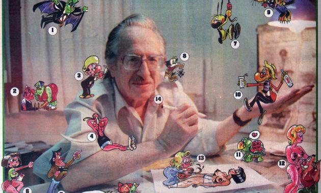Dibujante falleció esta madrugada a los 87 años (Difusión).