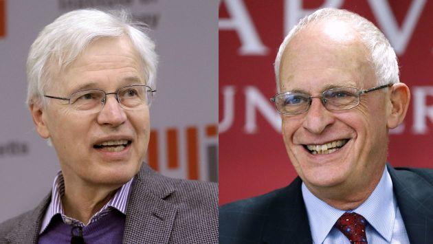 Real Academia de las Ciencias Sueca premió a dos economistas por su contribución a 'La teoría de los contratos'. (AP)