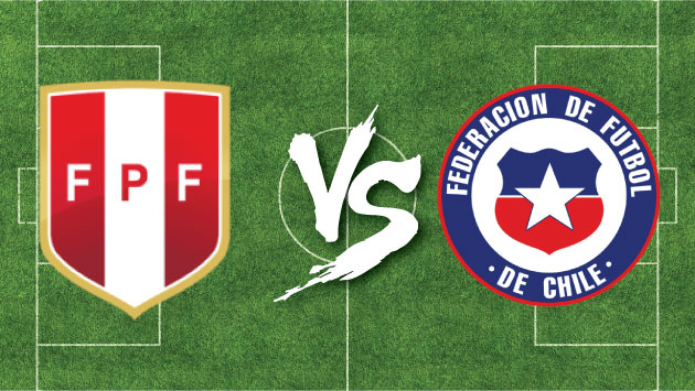 Perú y Chile se enfrentarán este martes por las Eliminatorias Rusia 2018. (Composición)
