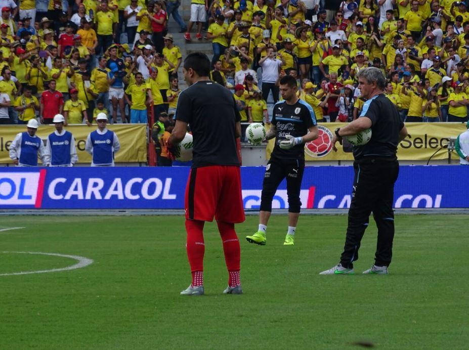 Colombia vs. Uruguay en vivo