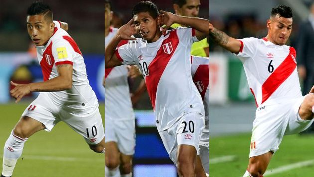 Jugadores de la selección peruana dan su impresión sobre la derrota ante Chile. (AFP)