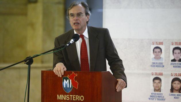 Carlos Basombrío realizó balance de su gestión. (Perú21)