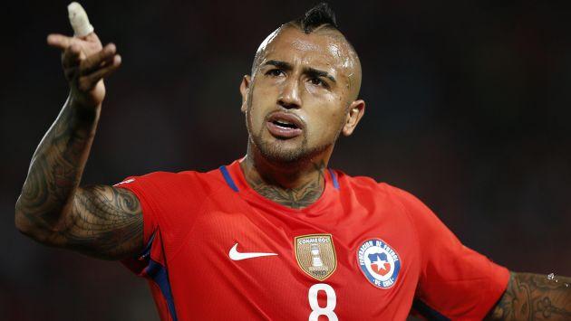 Arturo Vidal habló así de la selección peruana tras el triunfo de Chile. (AFP)