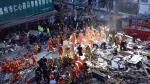 Al menos 17 personas murieron en China tras colapso de cuatro edificios en mal estado - Noticias de explosion