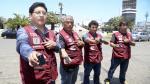 Cambistas autorizados de Miraflores ya usan chalecos con códigos QR [Fotos y video] - Noticias de jorge munoz wells