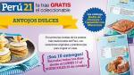 Perú21 te regala 10 entregas del coleccionable 'Antojos Dulces'.