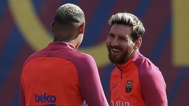 """""""En principio, (Lionel Messi) está en disposición de jugar"""", sostuvo el DT. (AP)"""
