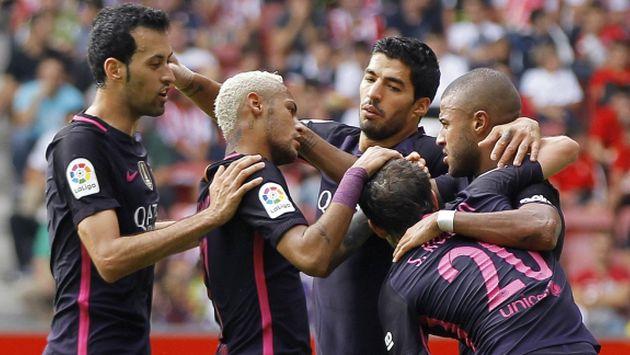 Las bajas que presenta el equipo de Luis Enrique son las de Sergi Roberto y Jordi Alba. (EFE)