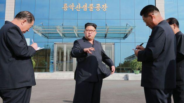 Corea del Norte lanzó por quinta vez un misil de prueba, y otra vez falló. (AFP)
