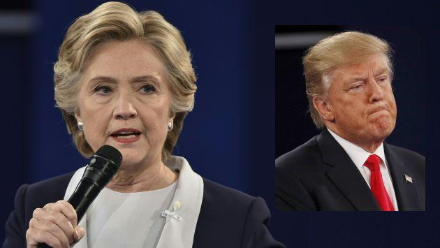 Hillary Clinton consolida su liderazgo con hasta 11 puntos de ventaja, según encuestas. (Reuters/AFP)