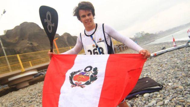 Itzel Delgado se coronó con la medalla de oro en los Panamericanos de Surf. (Difusión)