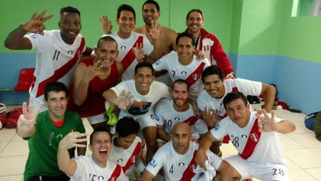 Con destacada actuación de Andrés Mendoza, Perú conquistó la Copa América de Fútbol 7. (Difusión)